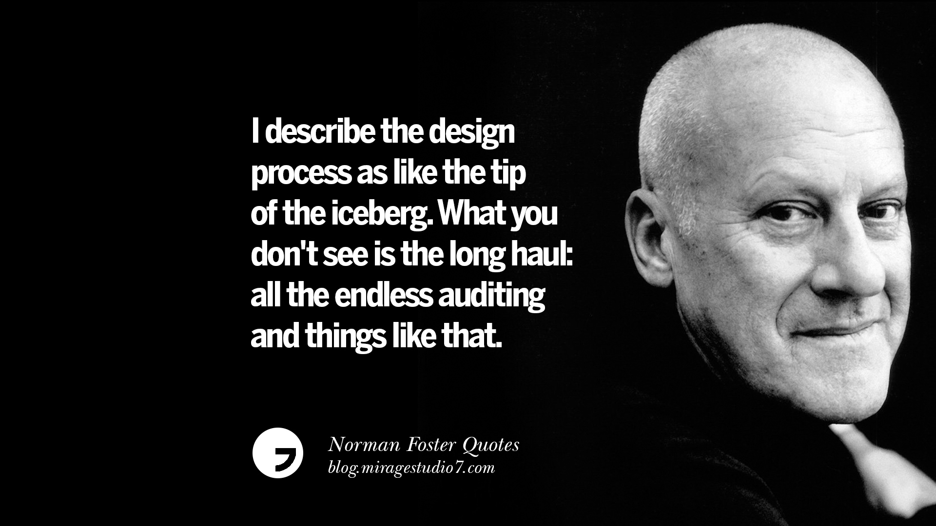 norman foster quotes on technology simplicity materials and